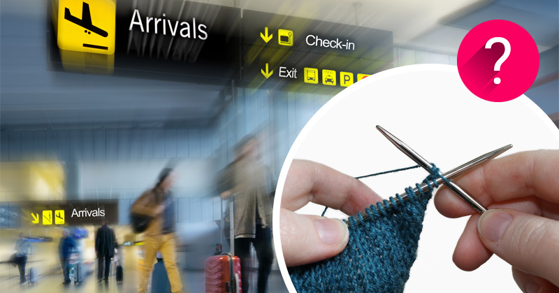 Haaknaald Met Licht : Mogen uw breinaalden en haaknaalden mee in het vliegtuig